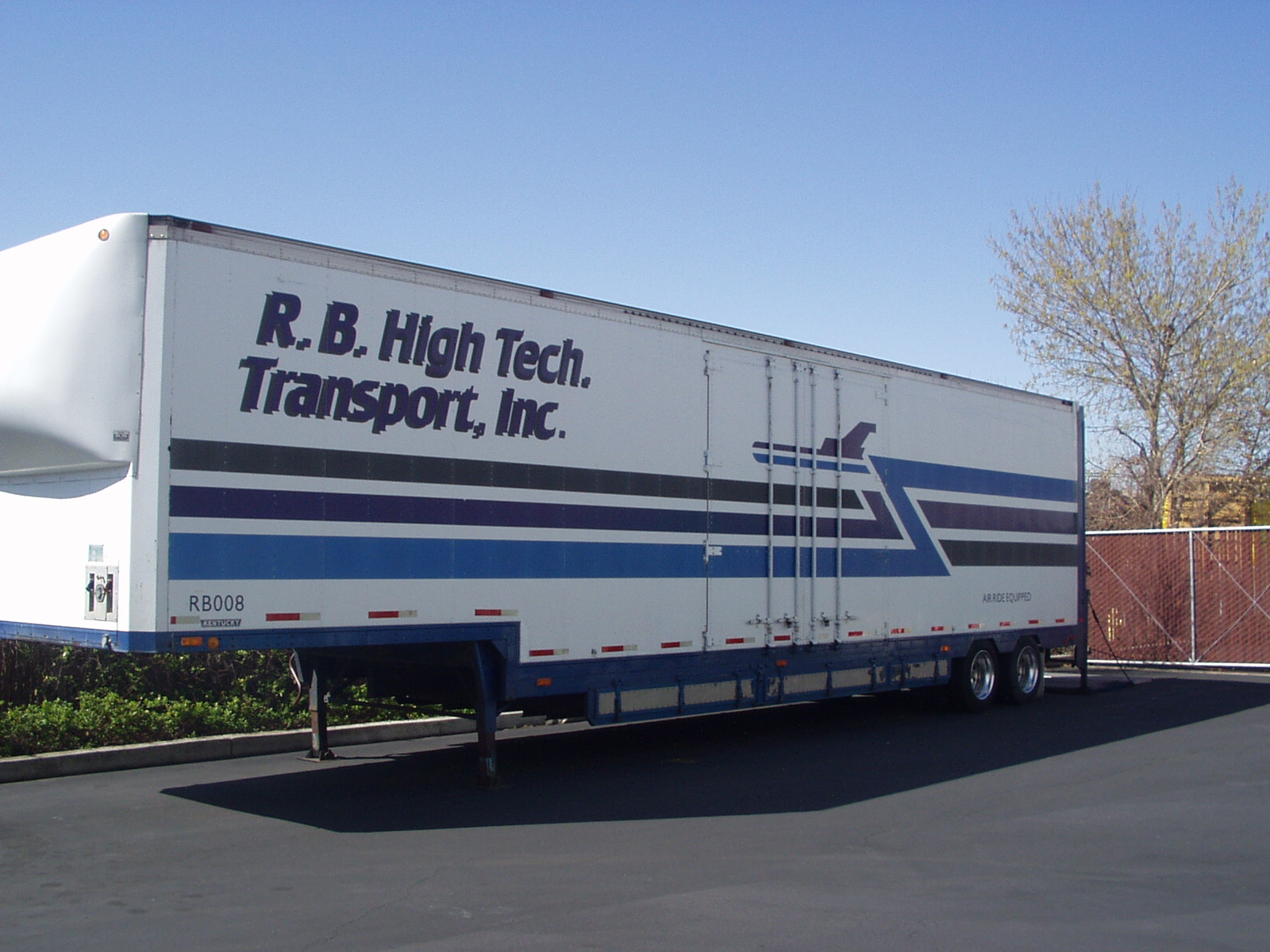 R B High Tech Transport Transport Trucking